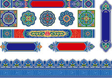 Chinese Pattern Background Stock Images