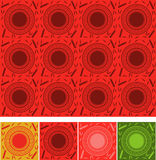 Chinese pattern. Red bamboo pattern china style design template for background use Stock Image