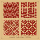 Chinese pattern design Stock Photography