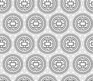 Chinese pattern Stock Photo