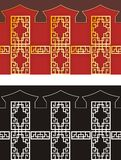 chinese patterns Royalty Free Stock Photo