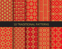 Chinese patterns Royalty Free Stock Photos