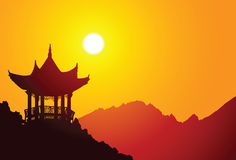 Chinese Pavilion Stock Images