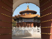 Chinese pavilion Stock Photography
