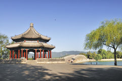 Chinese pavilion Royalty Free Stock Images