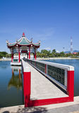Chinese pavilion. Stock Photography