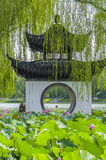 A Chinese pavilion Stock Photography