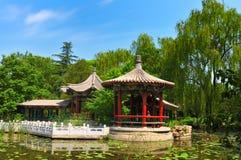 Chinese pavilion Stock Photo