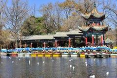 Chinese Pavilion Stock Image