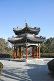 A Chinese pavilion Stock Image