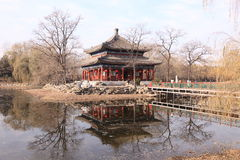 Chinese pavilion, Beijing Stock Photography
