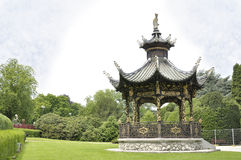 Chinese pavilion, Brussels, Belgium Stock Images