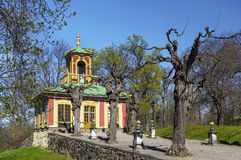 Chinese Pavilion at Drottningholm, Stockholm Royalty Free Stock Images