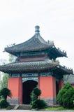Pavilion. Chinese folk architecture called pavilion in chengdu wuhou temple Stock Photos