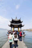 Chinese Pavilion at Hangzhou Royalty Free Stock Image