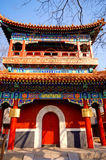 Chinese pavilion in Lama Temple(Beijing, China) Royalty Free Stock Image