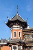 Chinese pavilion at the Museums of the Far East, Brussels Stock Photo