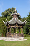 Chinese pavilion at the Museums of the Far East, Brussels Royalty Free Stock Photos