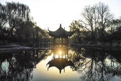 A Chinese pavilion Royalty Free Stock Images
