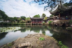 Chinese Pavilions Royalty Free Stock Photography