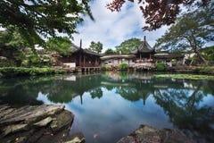 Chinese Paviljoenen stock fotografie