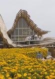 Chinese Pavillion in Expo 2015 Royalty-vrije Stock Foto's
