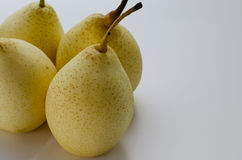 Chinese Pear. Fresh Chinese pear for eating Stock Photos