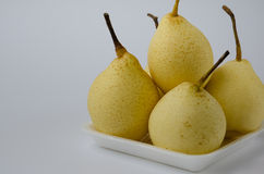 Chinese Pear. Fresh Chinese pear for eating Royalty Free Stock Image