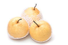 Chinese pear nashi isolated Stock Photography