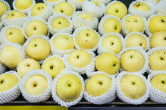 Chinese Pear for Sell Stock Photo