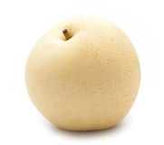 Chinese pear on white Royalty Free Stock Photo