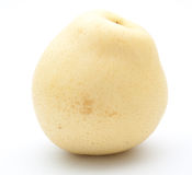 Chinese pear on white Royalty Free Stock Image