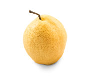 Chinese pear on white background Royalty Free Stock Photography