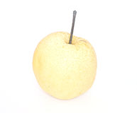 Chinese pear on white background. Isolate Stock Images