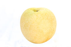 Chinese pear with white background Royalty Free Stock Photos