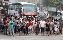 Chinese in Peking Lizenzfreie Stockbilder