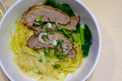 Chinese Peking Duck noodle Royalty Free Stock Photos