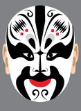 Chinese Peking opera mask Royalty Free Stock Image