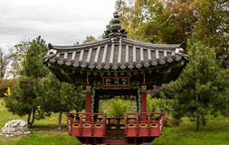 The Chinese Pergola Royalty Free Stock Photo