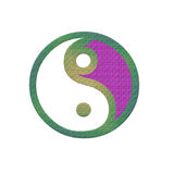 Symbol yin yang Royalty Free Stock Photo