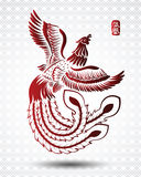 Chinese phoenix Stock Images