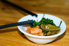 Chinese pickled vegetables Stock Images