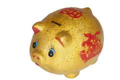 Chinese Piggy Bank Royalty Free Stock Photo