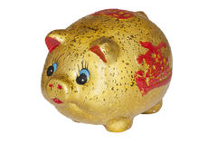 Chinese Piggy Bank Royalty Free Stock Photography