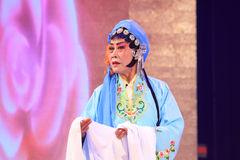 Chinese Pingju Opera Performance In A Theatre Royalty Free Stock Photo