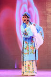 Chinese Pingju opera performance in a theatre Stock Image