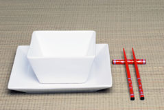 Chinese place setting Royalty Free Stock Photography