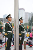 Chinese police Royalty Free Stock Photography