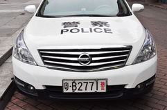 Chinese police car Stock Photos