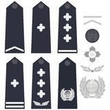 Chinese police insignia Royalty Free Stock Image